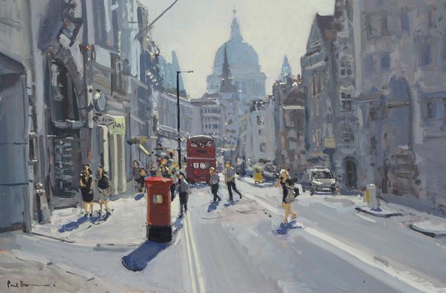 A hot summers day, Fleet Street