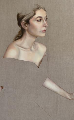 The Light She Brings, 60 x 90 cm, Oil on Linen, £2150
