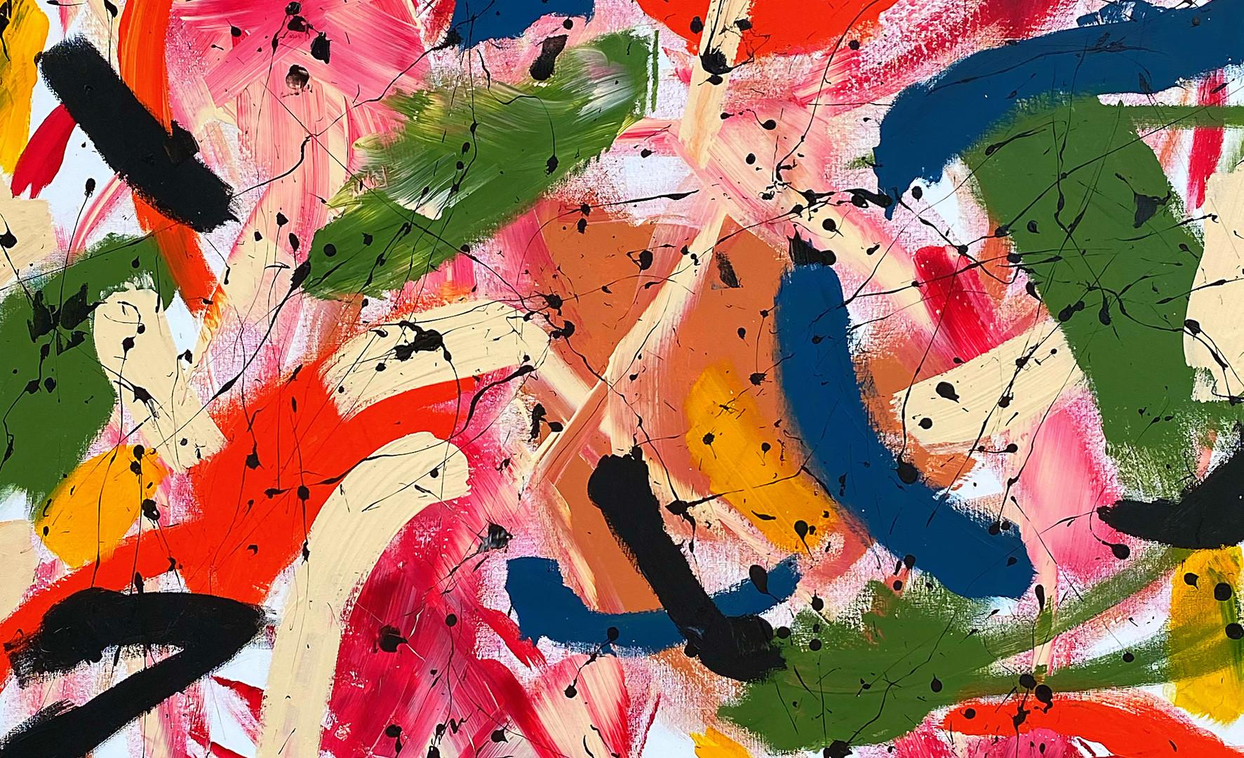 """Prince Khaemwaset, Acrylic on canvas, 60"""" x 48"""""""