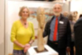 Royal Arts Prize, Chris Gornall, sculptur, lime stone sculpture, art show, group show, art gallery, london