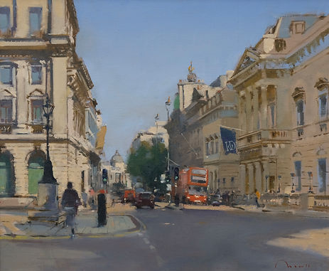 "Pall Mall, London Oil, 20""x24"" £2,850"