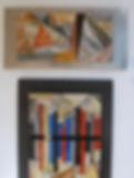 Huguette Acossano, art, royal arts prize, artists, winner, portrait, black and white, grey, artwork