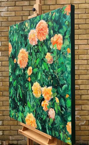 Botanica I, 91.5 x 91.5 cm, Oil on Canvas