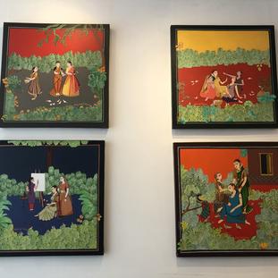 J keerthi Mohan, Untitled series of 4