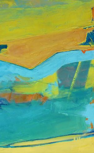 Sea Pool II, 60 x 80 cm, Oil on Canvas, £1800