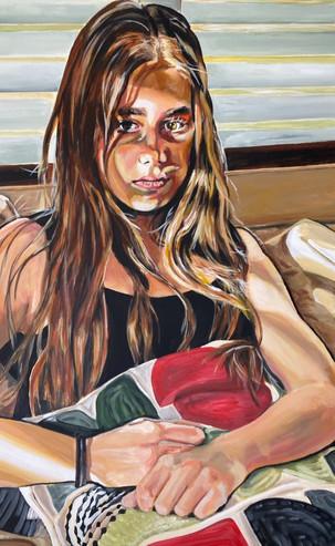 Sulky, 60 x 80 cm, Acrylic on Canvas, £1399