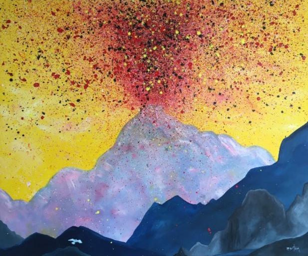 big red eruption