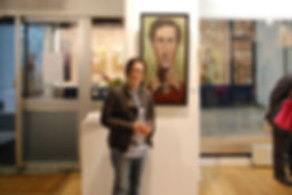 Royal Arts Prize, Ronnie Jiang, art, artist, group show, art gallery, portrait, amadeo modigliani, art space, prize, group show