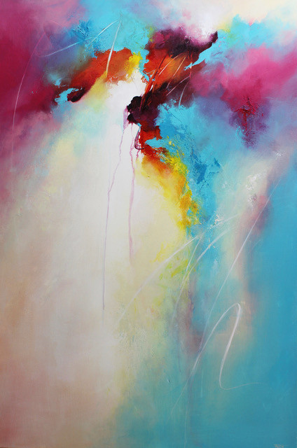 Word of Light, 60 x 90 cm, Acrylic on Canvas, £1080