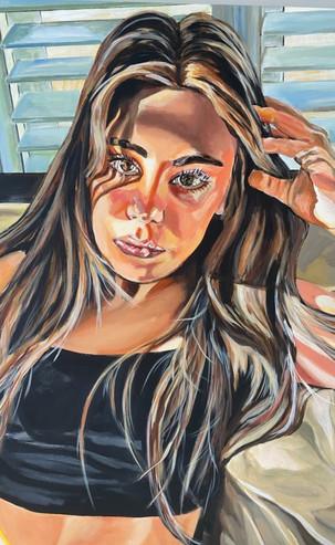 Sassy, 60 x 80 cm, Acrylic on Canvas, £1399