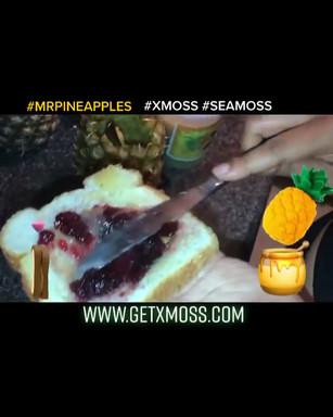 PINEAPPLE MOSS PB&J ❤️