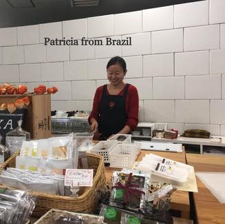 Patricia from Brazil