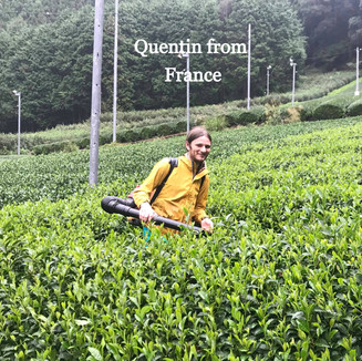 Quentin from France