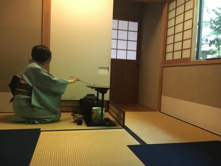 Japanese tea ceremony experience
