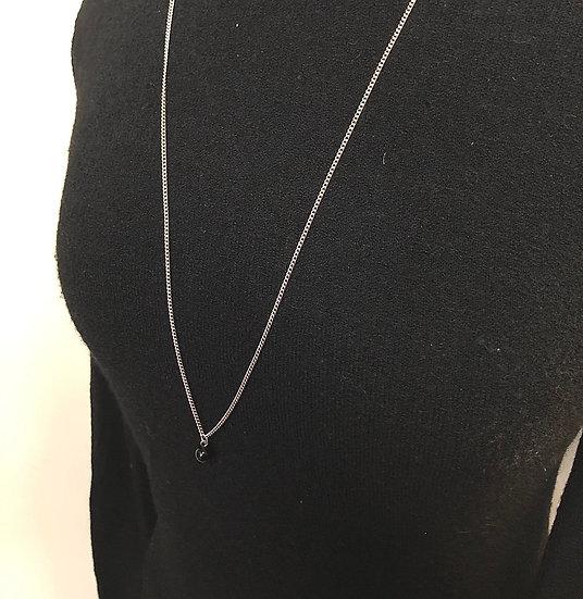 Collier long pierre - ONYX