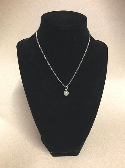 Collier court pierre naturelle - Jade de chine