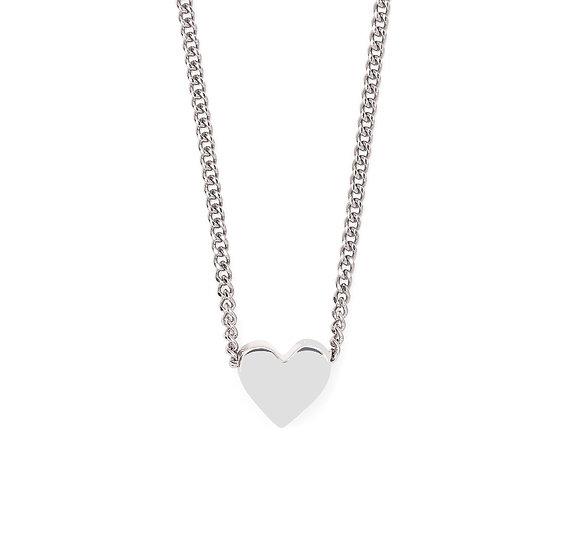 Collier Coeur / Silver heart Chocker