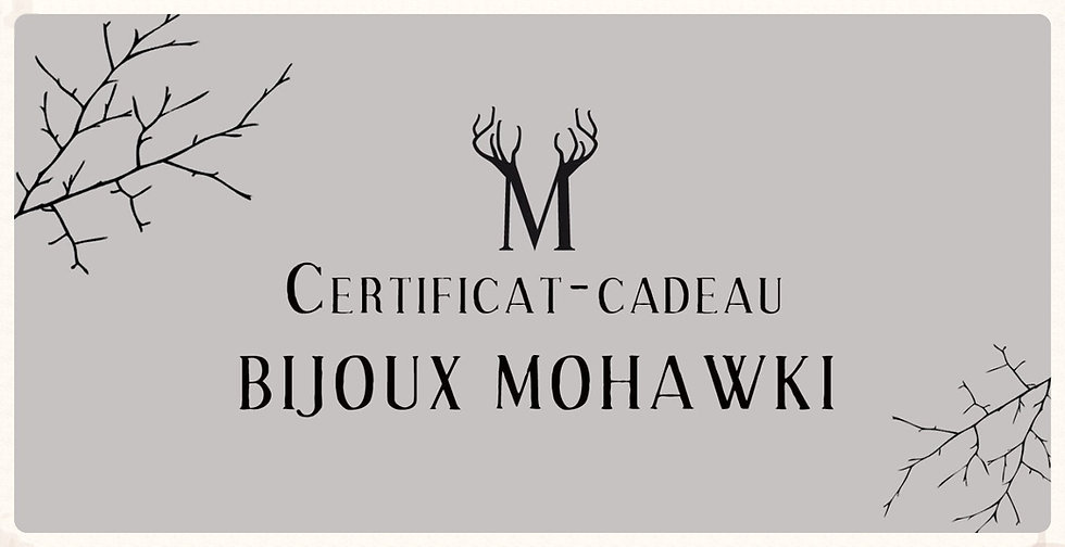 Certificat Cadeau / Gift Card