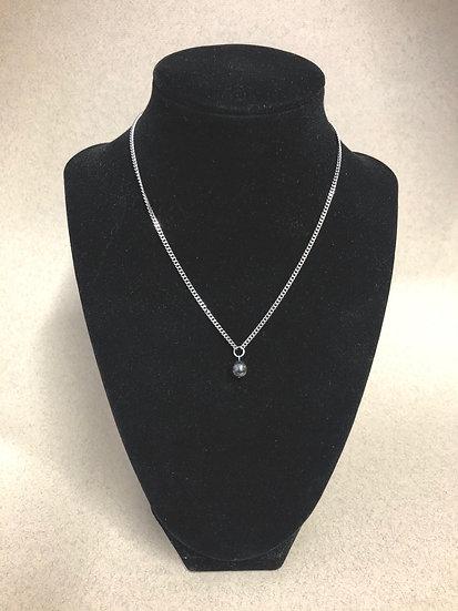 Collier court pierre naturelle - Hématite