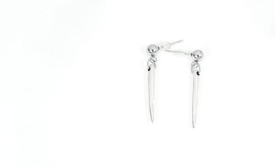 Boucle d'oreilles Glaçon / Icicle Earring