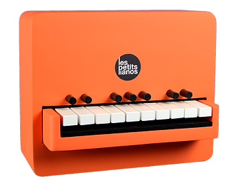 Petit piano diatonique ORANGE