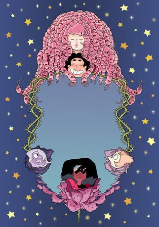 Steven Universe Inside Cover