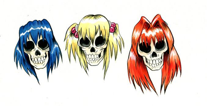 Anime Hair Girls