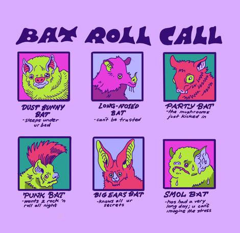 Bat Roll Call