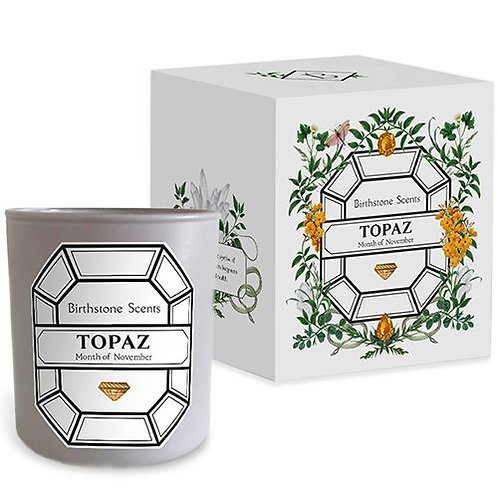 TOPAZ CANDLE | November (Birthstone Scents)