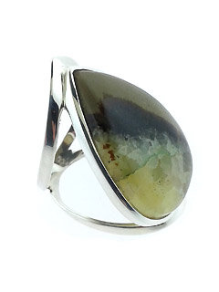 Banded African Opal Ring