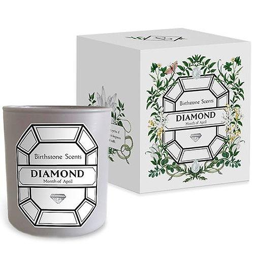 DIAMOND CANDLE | April (Birthstone Scents)