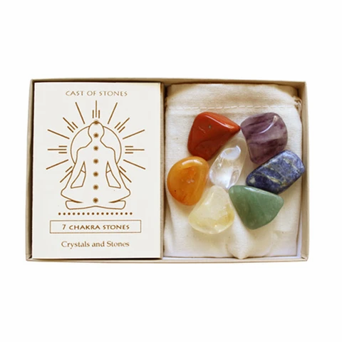 7 Chakra Stone Set