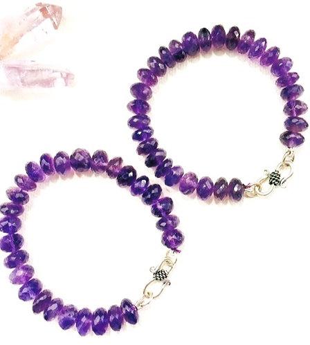 Amethyst  Intuition Bracelet