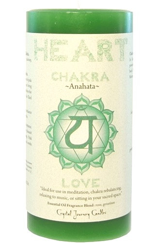 Heart Chakra  Candle for love