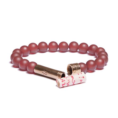 Matte Carnelian Bracelet