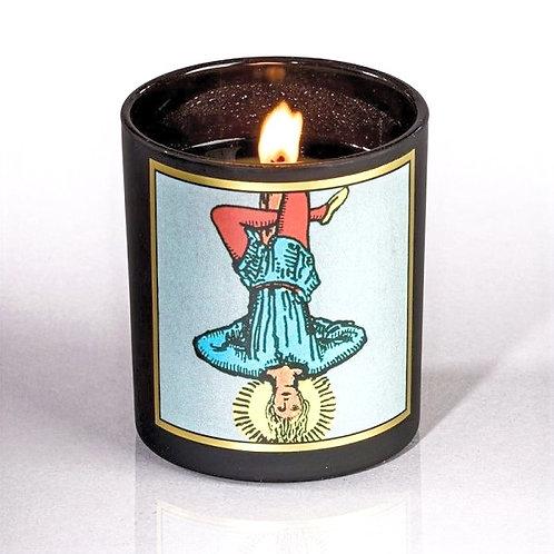 Hanged Man Tarot Candle