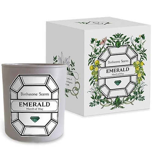 EMERALD CANDLE | May (Birthstone Scents)