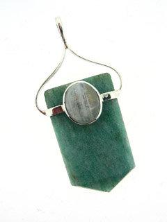 Healer Point Jade Pendant