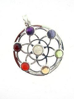 Chakra Wheel Pendant