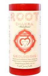 Root Chakra Red Candle