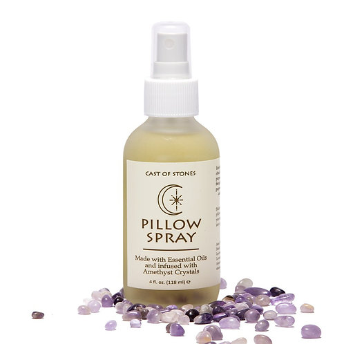 PILLOW SPRAY INFUSED W/ AMETHYST CRYSTALS