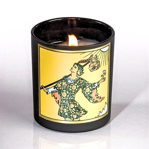 Fool Tarot Candle