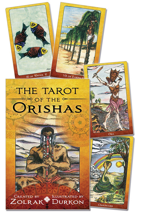 Orishas cards for protection