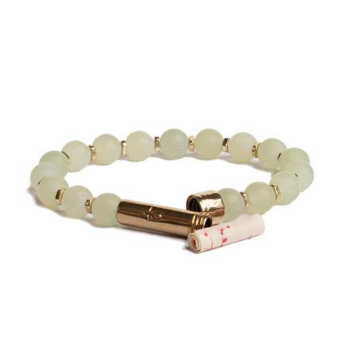 Matte Light Jade Shine Bracelet