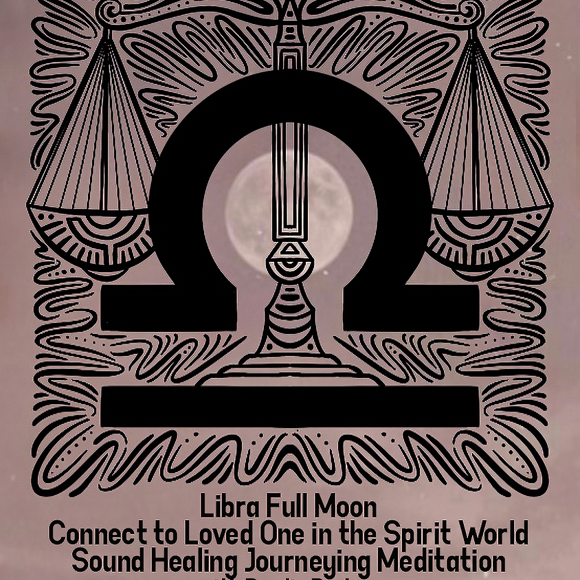 Libra Full Moon Sound Healing Journey Meditation with Pardis Partow