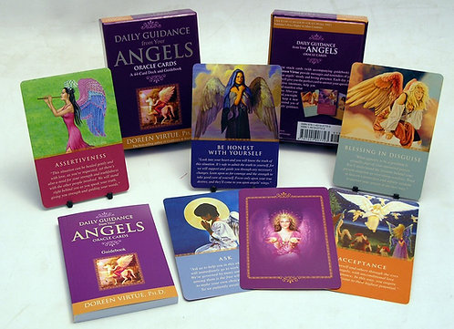 Daily Guidance from Angels Doreen Virtue Oracle Deck