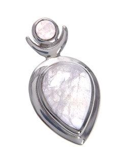Moonstone Goddess Pendant