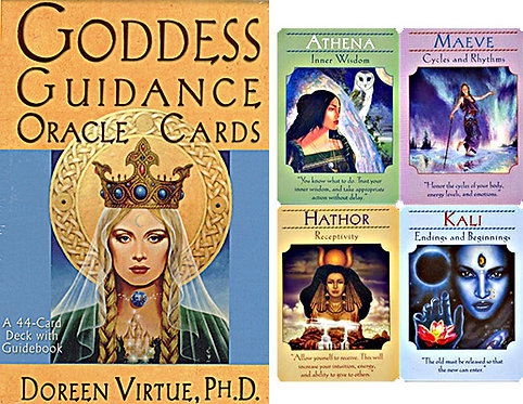 Goddess Guidance Doreen Virtue Oracle Deck