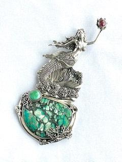 Magical Mermaid Pendent