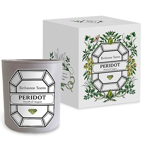 PERIDOT CANDLE | August (BIrthstone Scents)